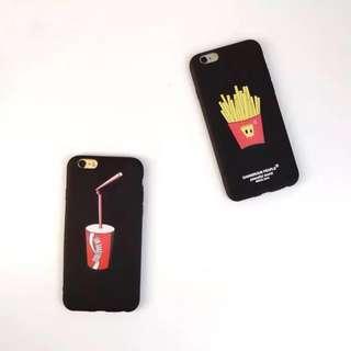 🚚 薯條/可樂手機殼 *軟殼 *預購 *iphone6/ iphone 7/ iphone 8 plus