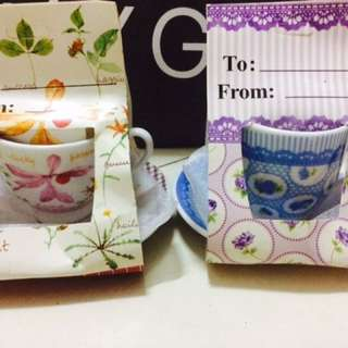 Mini cup&saucer