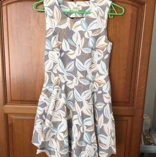 (HK Design) Summer Abstract Dress