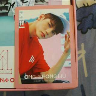 [WTS] WANNA ONE TO BE ONE ALBUM ONG SEONGWOO PINK VER. PC
