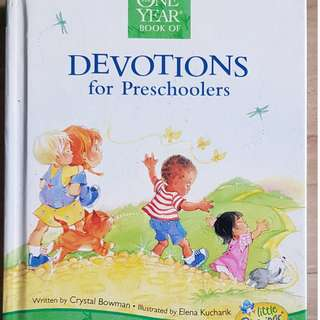 One Year Book of Devotions for Preschooiers