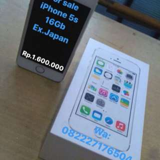 iPhone 5s 16gb x.japan