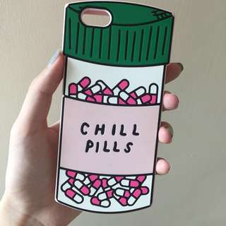 Chill pills iPhone case IP6/6S