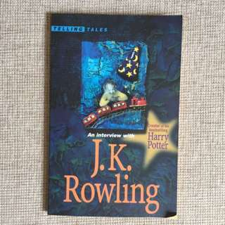 An interview with JK rowling