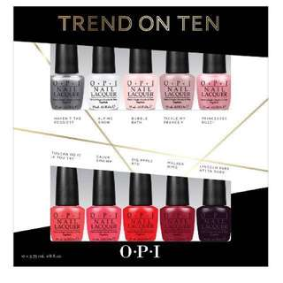 OPI Trend on Ten (LAST SET!)
