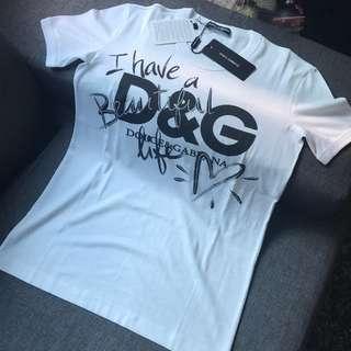 Dolce & Gabbana I have a beautiful life shirt