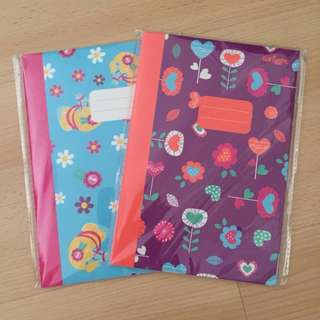 A5 Size Smiggle Notebooks with lines (2 for $6)