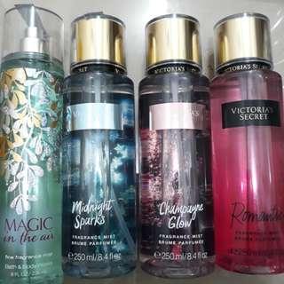 Victoria's Secret and Bath & Body Works Perfumes
