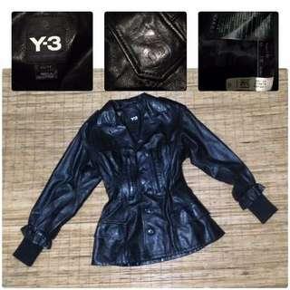adidas neo Y3 jacket leather