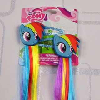 My Little Pony Faux Hair Clip