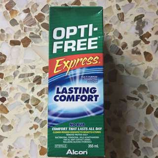 BN Contact Lens Solution Opti-Free Express No-Rub Formula