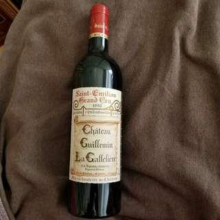 1996 St Emilion Grand Cru Chateau Guillemin La Gaffeliere