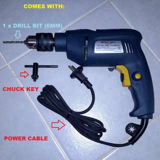 DCA 13mm 650-Watts Powerful Impact Drill for Concrete, Solid Steel, Hard Wood, etc - $38