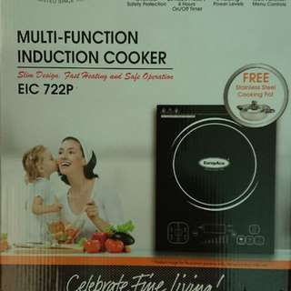 Europace Induction Cooker + 2 Steel Pots