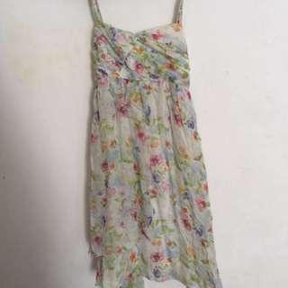 Zara flowery dress (GARAGESALE AKHIR TAHUN)