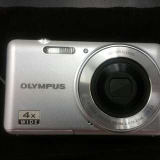 Olympus VG-110 12 MP Digital Camera with 4x Wide Zoom Lens (27mm) and 2.7-Inch LCD (Silver) (Old Model)