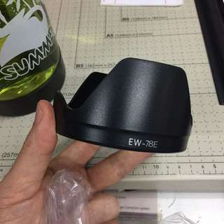EW-78E Lens Hood for Canon EF-S 15-85mm f3.5-5.6 IS USM Lens