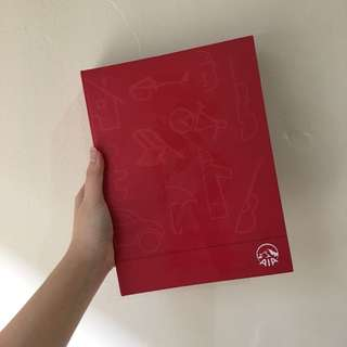 AIA Red Binder