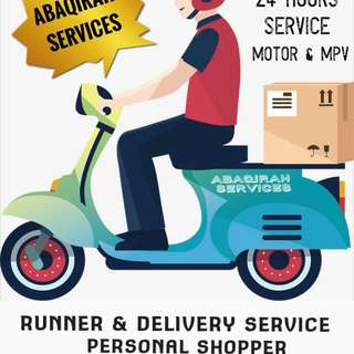 Runner & Delivery Servis