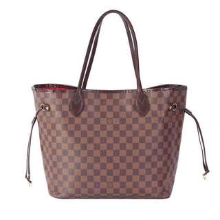 💯Louis Vuitton Damier Ebene Neverfull MM