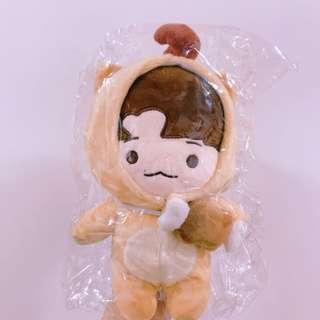 EXO 邊伯賢 鬼怪伯賢20cm玩偶送透扇
