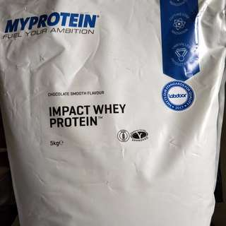 My Protein Impact Whey Protein 5kg Brand New Sealed