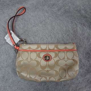 100% Brand new Coach small pouch bag