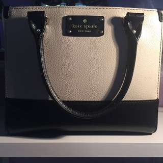 Kate Spade Two Tone Leather Crossbody