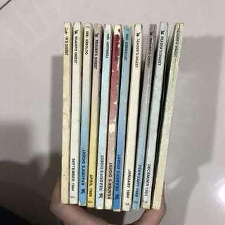 Vintage Reader's Digest 1984, 1988, 1989