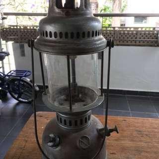 Old kerosene oil lamp
