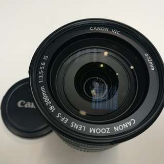 USED CANON EFS 18-200mm