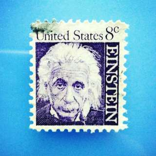 Stamp United States: 1966 Albert Einstein  Prominent Americans Series