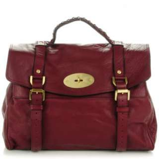 Mulberry Oversized Alexa Bag