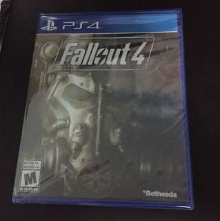 PS4 Fallout 4 (Brand New)