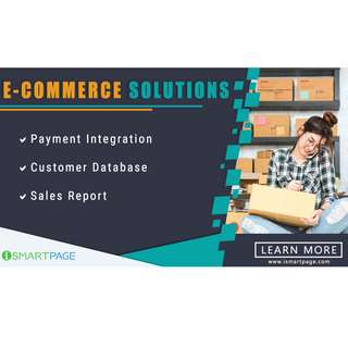 eCommerce website design and development with implementation