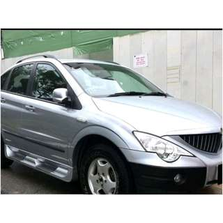 SSANGYONG ACTYON 2.3 AT ABS D/AIRBAG SR 2WD
