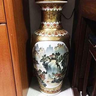 Chinese Porcelain Vase (1m)