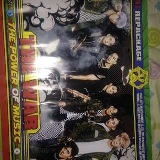 Official Poster Exo The War Power