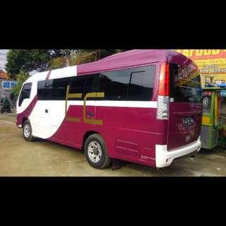 Sewa mobil wisata ELF (16 - 19 seat), harga murah dan berkualitas. Hubungi Nemob.id