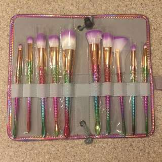 Unicorn Brushes 10 Piece Set
