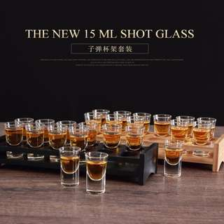15ml Shooter Set (15pcs glass + Stand)