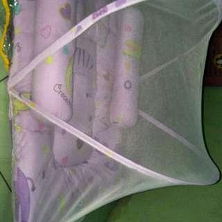 Kasur tidur sudah include kelambu