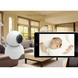 SMART HD IP Camera,1080P Wireless Wifi Security Camera Home Monitor IndoorOutdoor 2-Way Audio