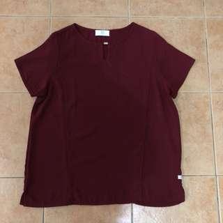 Bayo polyester top with embellishment