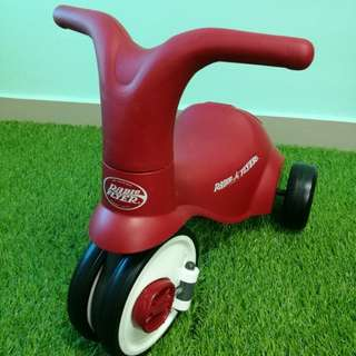 Radio Flyer scoot to pedal tricycle