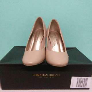 CHRISTIAN SIRIANO for PAYLESS NUDE HEELS