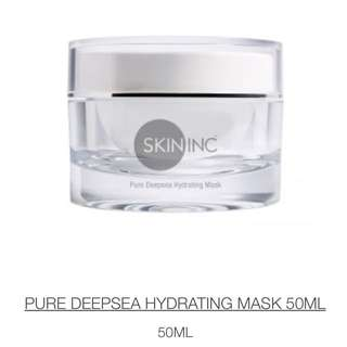BRAND NEW SEALED Skin inc Pure Deepsea Hydrating Mask 50ML