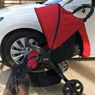 Stroller Britax B AGILE red color