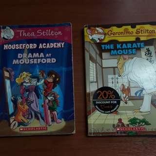 Geronimo Stilton & Thea Stilton book