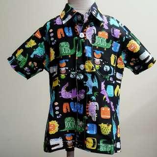 🐊 colourful dinosaur shirt